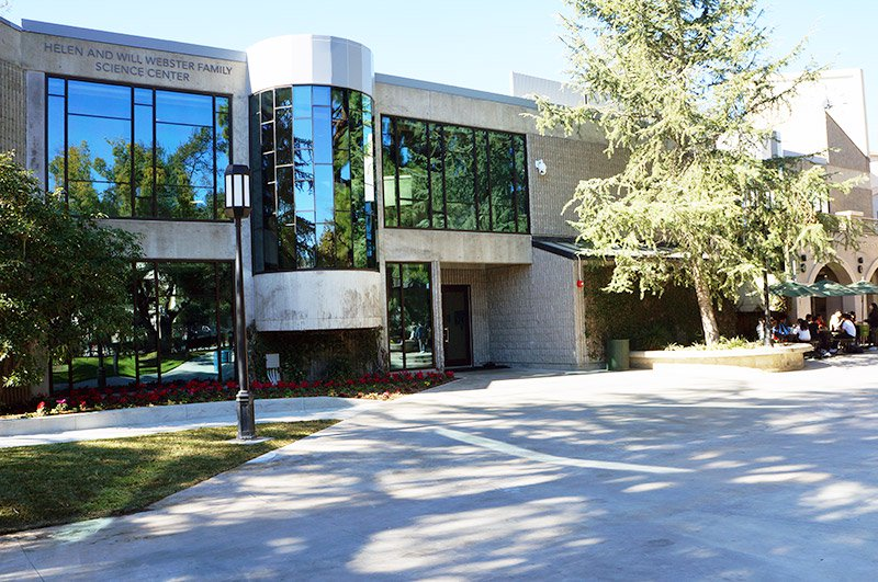 Atrium Construction Completed; Science Center Named